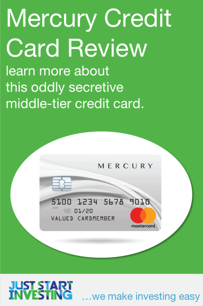 Mercury Credit Card - Pinterest