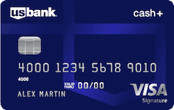 U.S. Bank Cash Plus Visa Signature Card