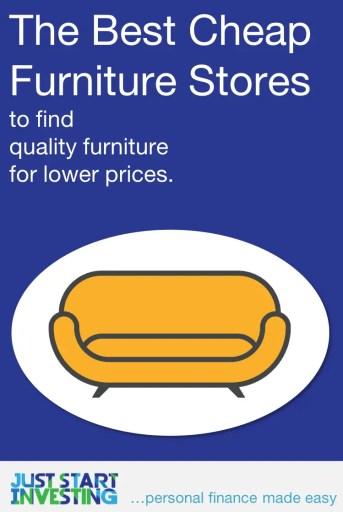Best Cheap Furniture Stores - Pinterest