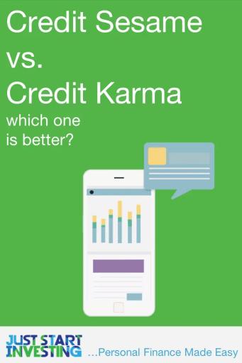 Credit Sesame vs Credit Karma - Pinterest