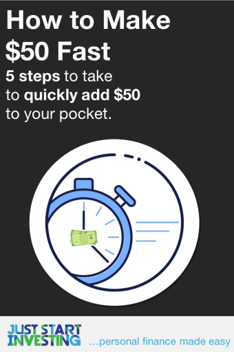 How to Make 50 dollars Fast - Pinterest
