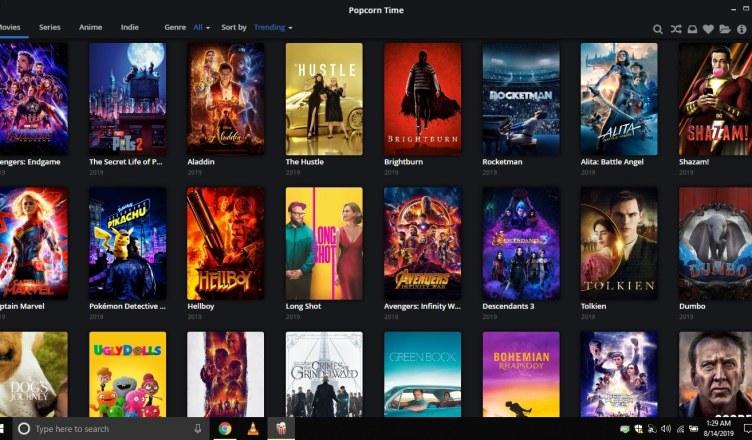 Popcorn Time on PC