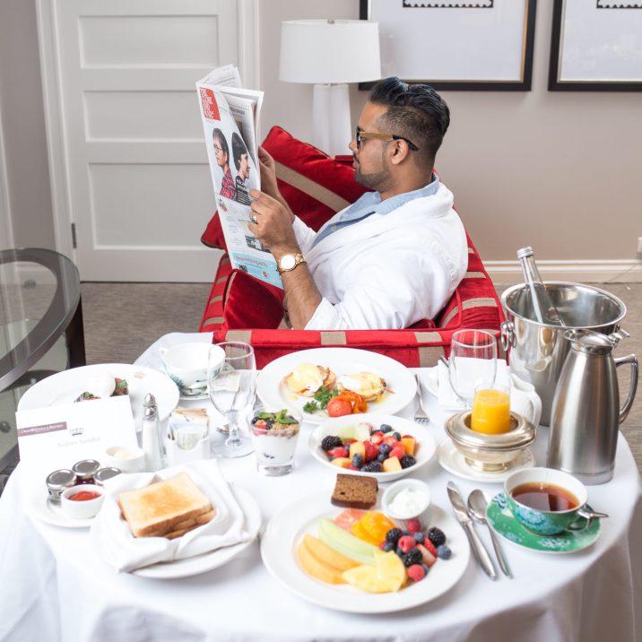 Staycation: OMNI King Edward Hotel Toronto
