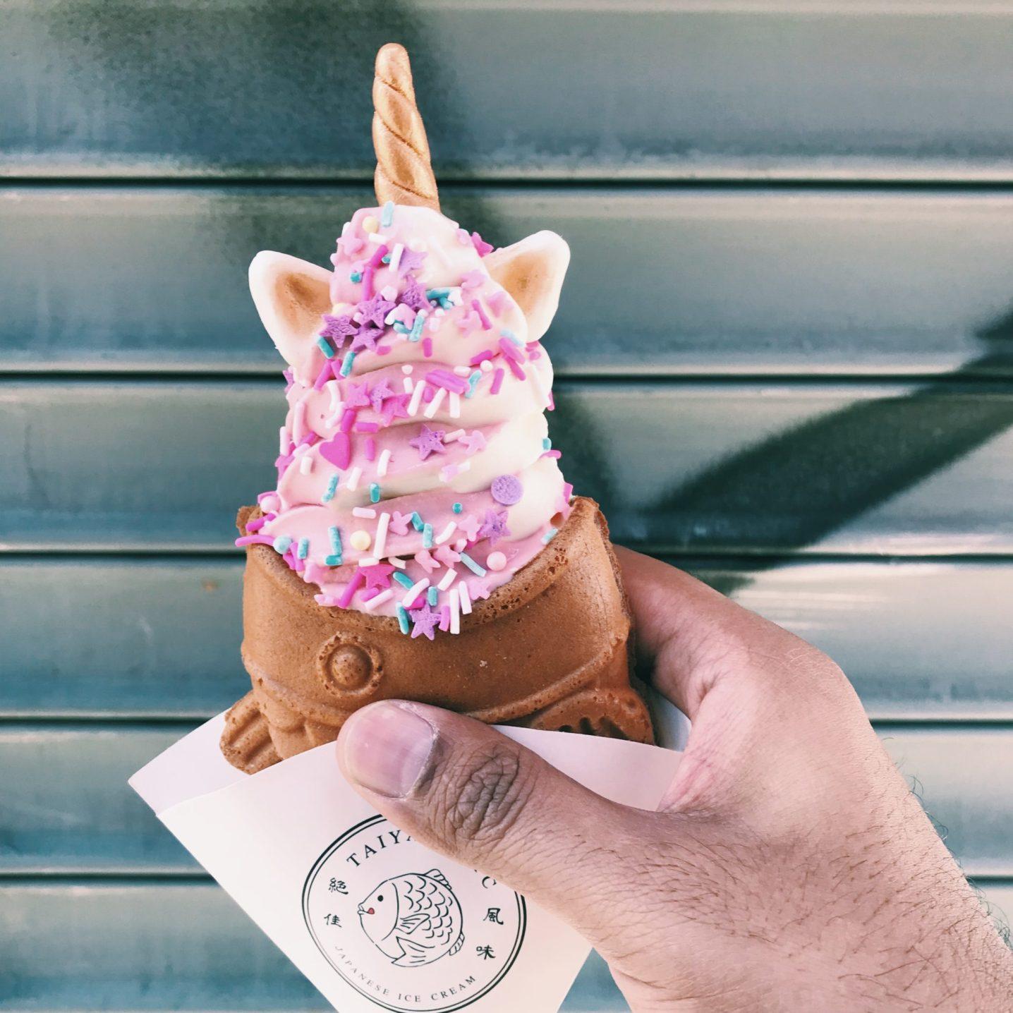 Taiyaki NYC: A mix of Unicorns & Ice Cream in NYC Chinatown
