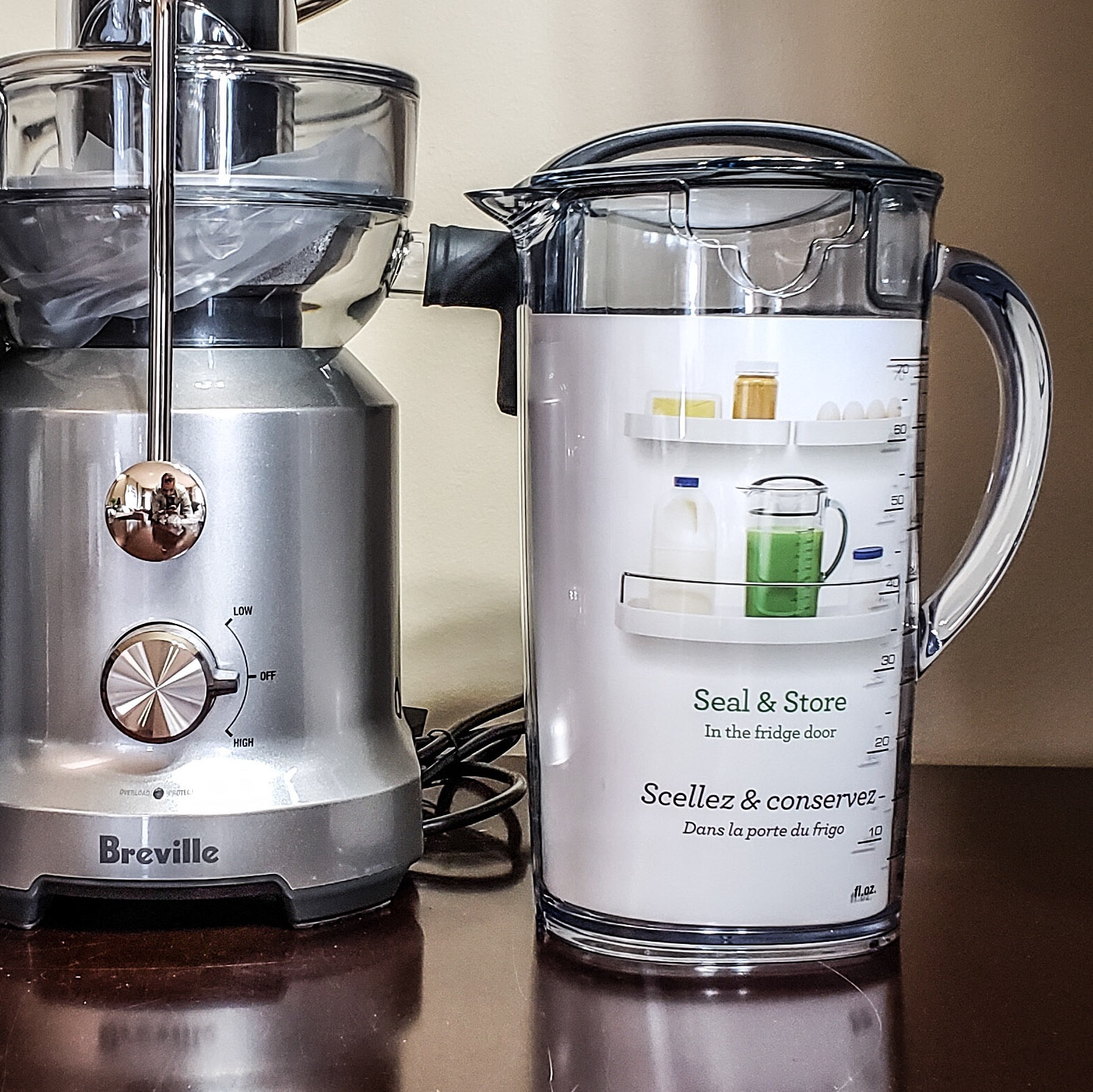 Taking Juicing for a Cold Spin with the Breville Juice Fountain