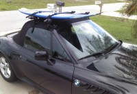 Gutterless Surfboard Roof Racks