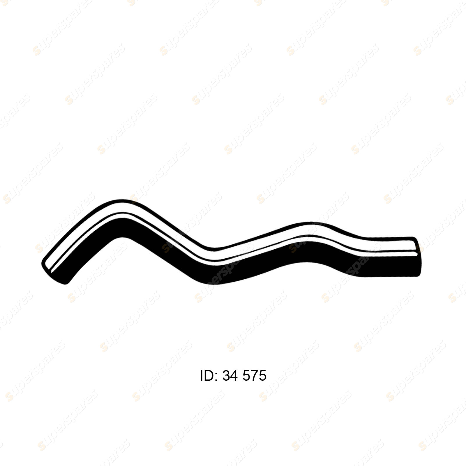Gates Lower Radiator Curved Hose for Mitsubishi Galant HJ