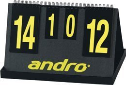 Andro Score Board - Fair Play - Sturdy - No more tearing numbers