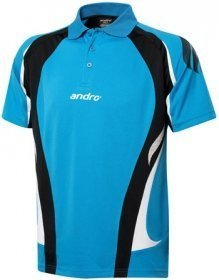 andro Polo PONCA Blue/Blk 100% Polyester IndoorDRY