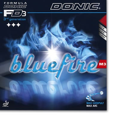 Donic Bluefire M3 - 4th Generation, the blue miricle