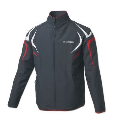 Donic Tracksuit Jacket Trophy Anthracite/Red