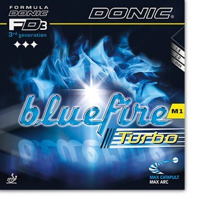 Donic Bluefire M1 Turbo - Even more Spin and Speed