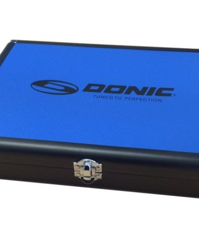 Donic Aluminium Bat Case Blue/Black