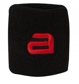 Andro Alpha Wrist Band - Sweat Absorbsion Black/Red