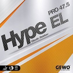 Gewo Table Tennis Rubber Hype EL Pro 47.5