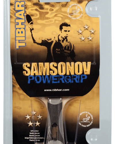 Tibhar Samsonov Powergrip, Factory Made Table Tennis Racket