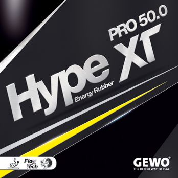 Gewo Table Tennis Rubber Hype XT Pro 50.0