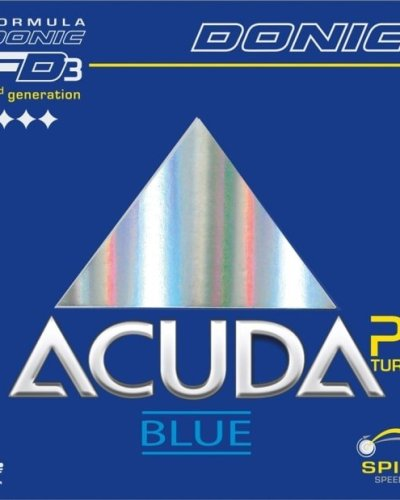 Donic Acuda Blue P1 Turbo - extreme grip for Plastic Ball