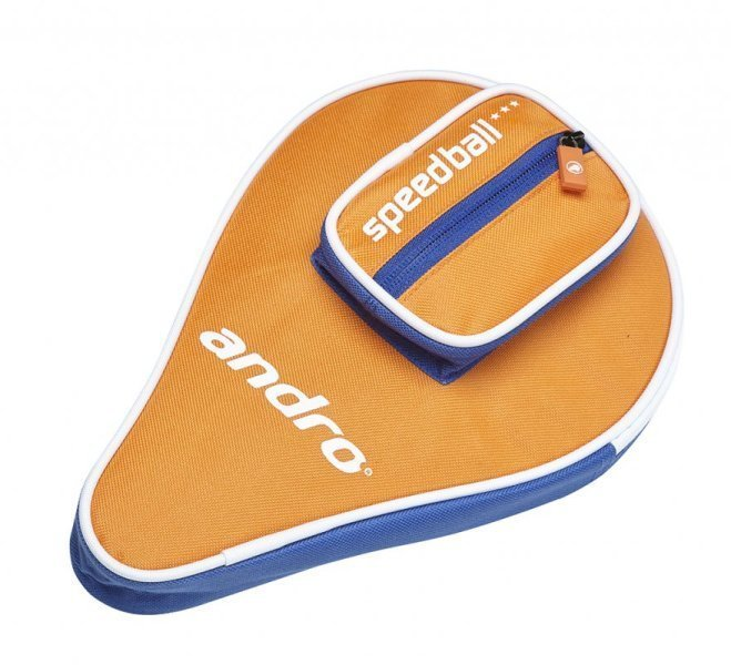 andro Batcover Basic, with Ball compartment Orange/Blue/White