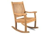 Kensington Teak Rocking Chair - Grade A Teak Furniture