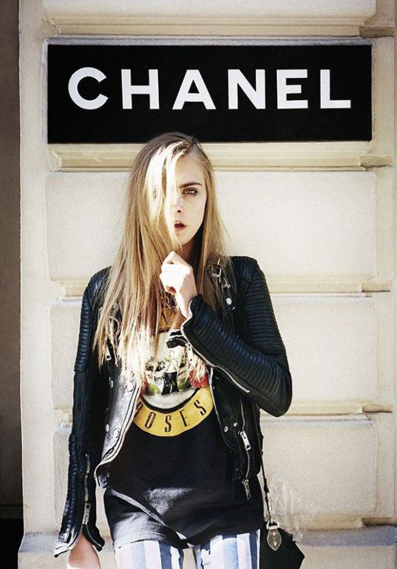 Cara Delevingne Fashion Photography By Matt Irwin