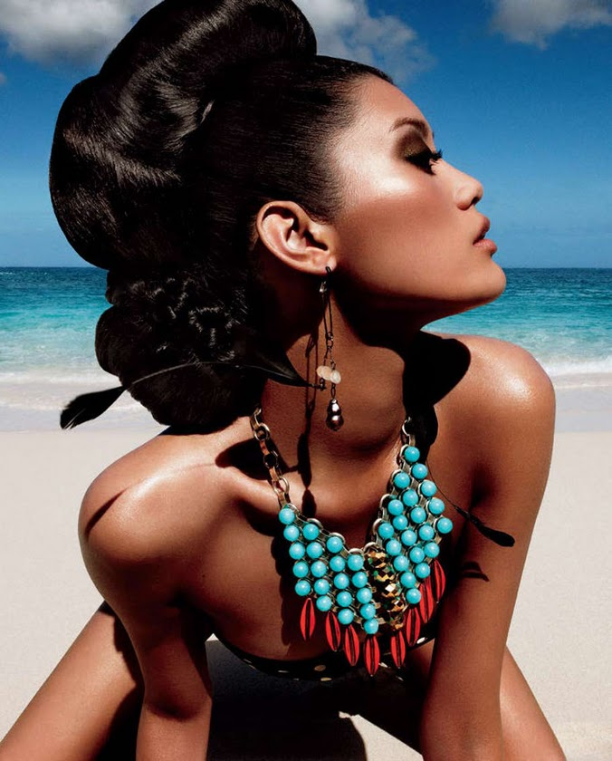 Fashion Model Ming Xi  Vogue China May 2011