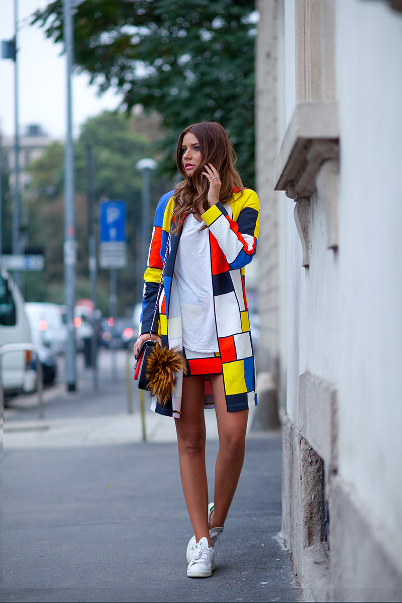 Color Blocking Cute Color Block Dresses And Outfit Ideas