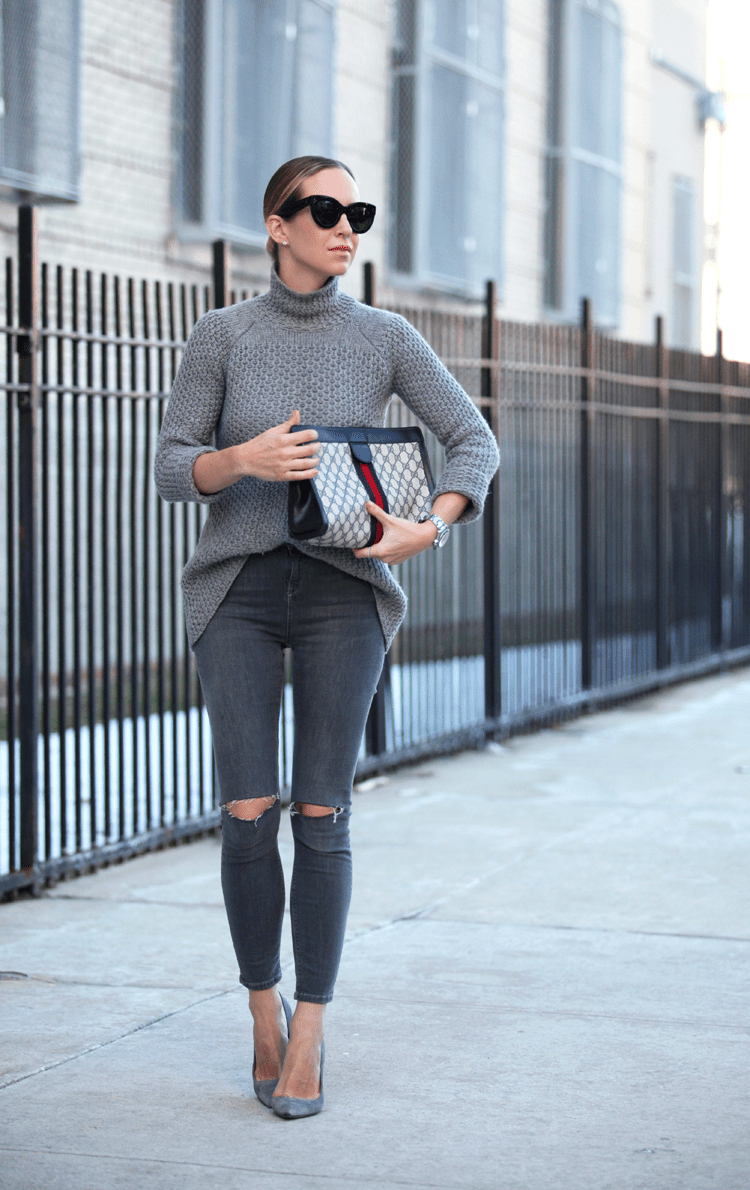Grey Knitwear Grey Layers Grey Outfits Grey Is A