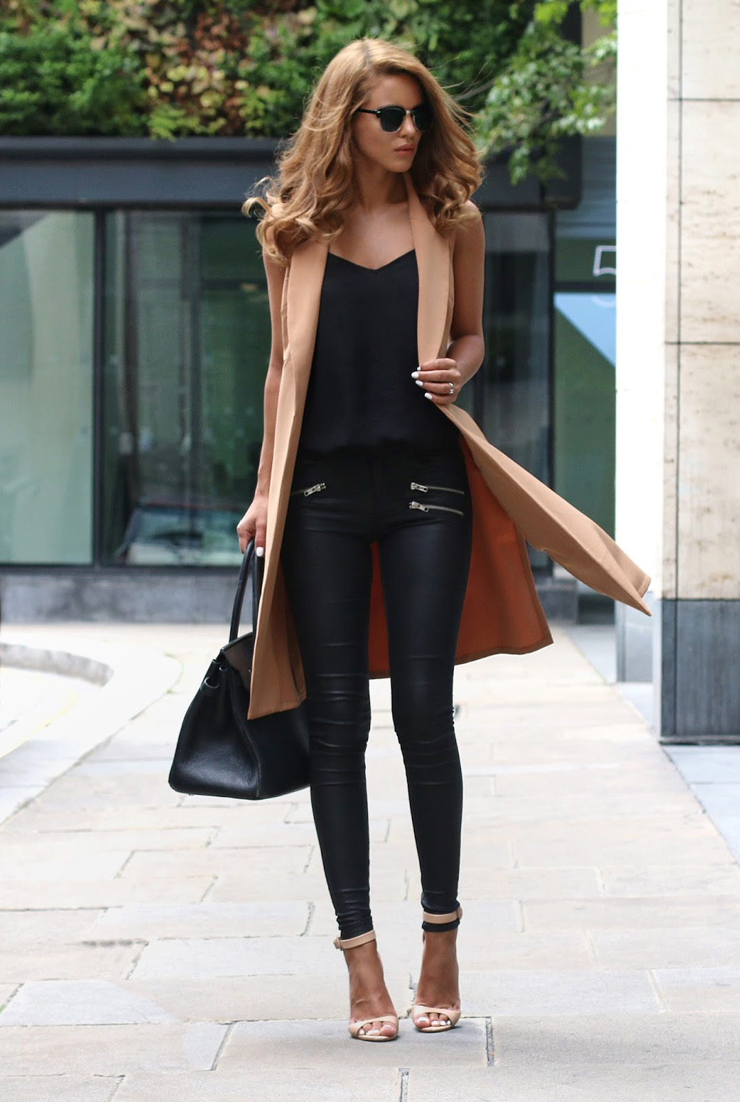 Black And Camel Outfits  This Is How To Style The Look  Just The Design