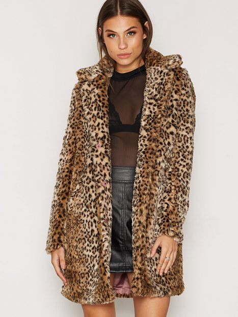 Fialva Faux Coat From Nelly