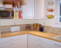 Organizing Kitchen Counter