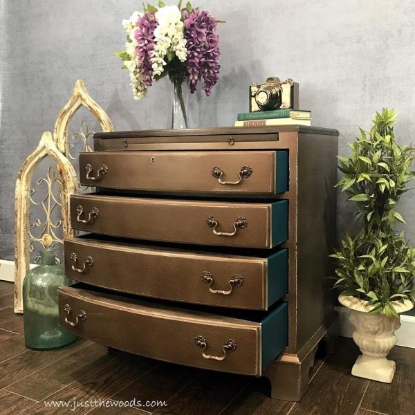 Metallic Painted Furniture Ideas