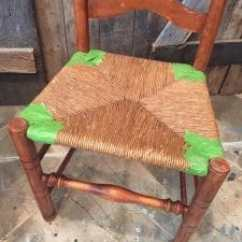 Antique Ladder Back Chairs With Rush Seats On Wheels For Dining How To Paint The Perfect Chair Easy Way A Seat Vintage Painted