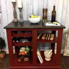 Red Kitchen Islands Aid Dishwashers How To Paint Your Own Island For Radiant