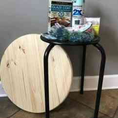 Metal Adirondack Chairs Polymer How To Make A Unique Led Mosaic Table With Gems & Lights