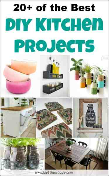 diy kitchen decor ideas 20+ of the Best DIY Kitchen Projects to Spruce Up Your Home