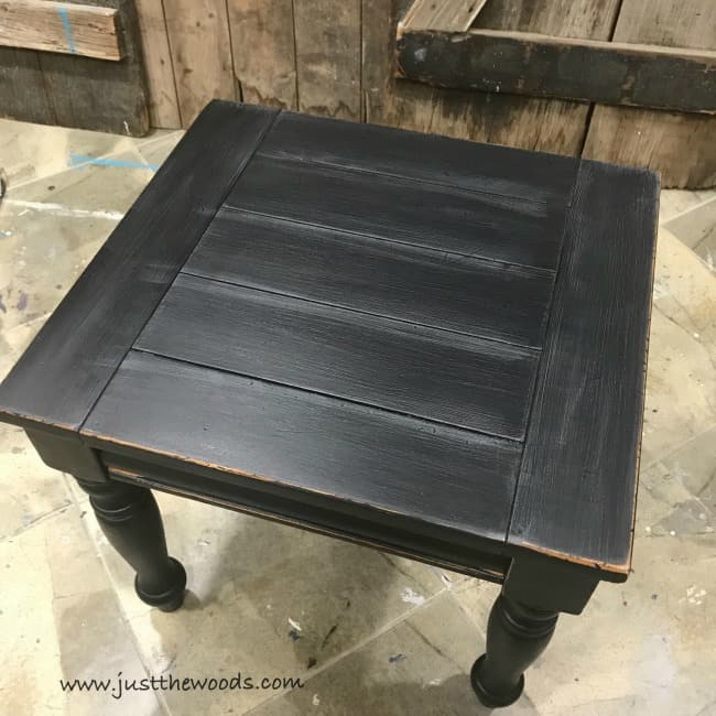 black farmhouse chairs diy chair cushion with piping how to get style distressed furniture distress
