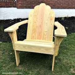 How To Build An Adirondack Chair Massage Office Chairs From Scratch Diy