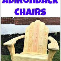 Plans For Adirondack Chair Modern White Office How To Build Chairs From Scratch See Find Free Making