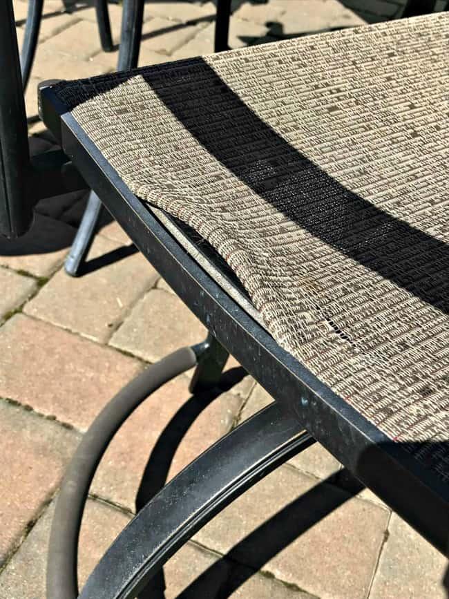 diy patio chair repair