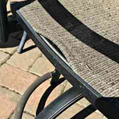 How To Repair A Lawn Chair Gym Workout Youtube Save Yourself Money With Diy Patio Broken Slings Fix Chairs