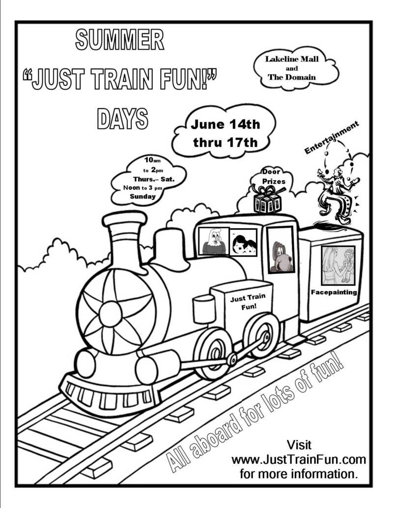 Activities & Fun Stuff: Just Train Fun! Rides for Kids