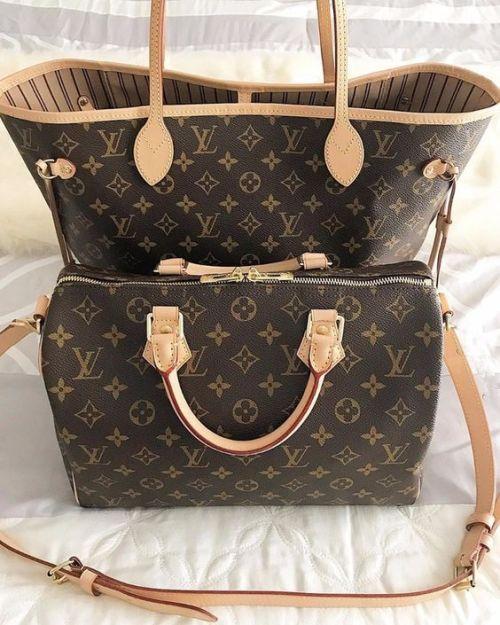 louis vuitton monogram bags just for trendy girls