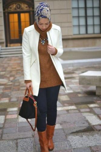 Stylish Hijab Looks By Hani Hulu Just Trendy Girls