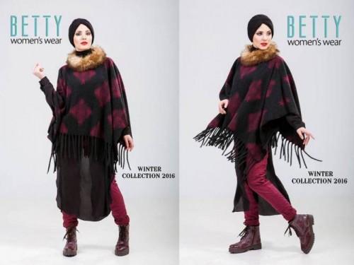 fringe poncho hijab style