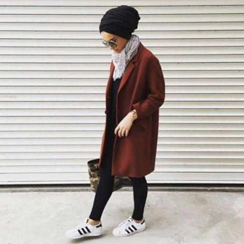 sporty hijab adidas style