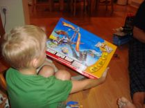 Hotwheel cars & track from Sam & Laura