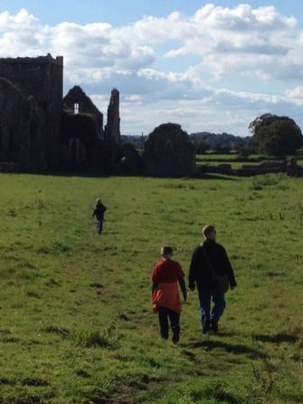 Abbey near Rock of Cashel