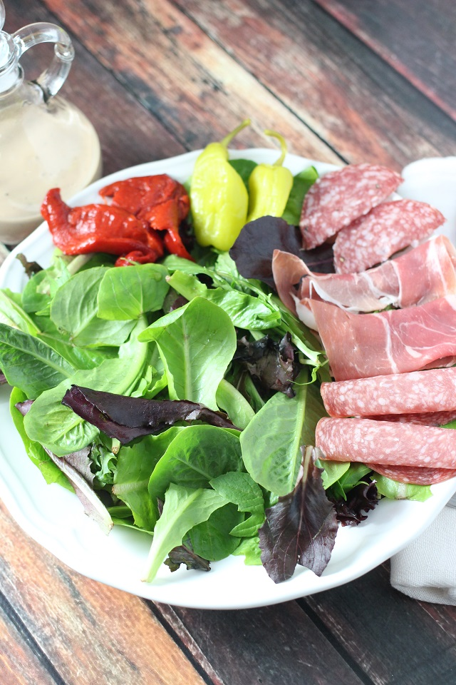 Mama Loves Food - Italian Antipasto Salad