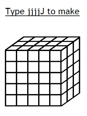 1, 2, 3, Math Fonts